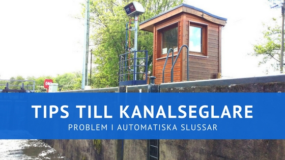 Tips: Problem med automatiska slussar