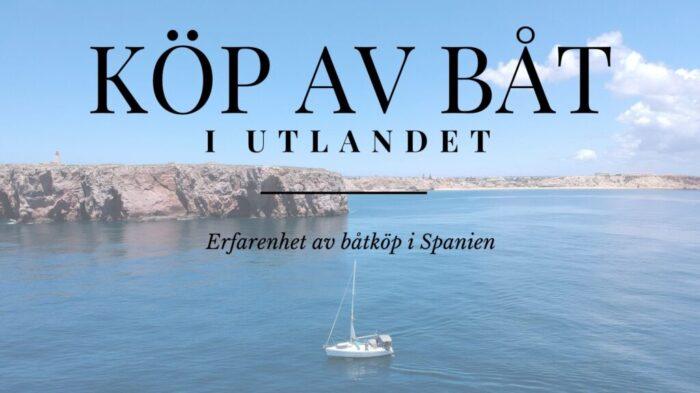 Köp av båt